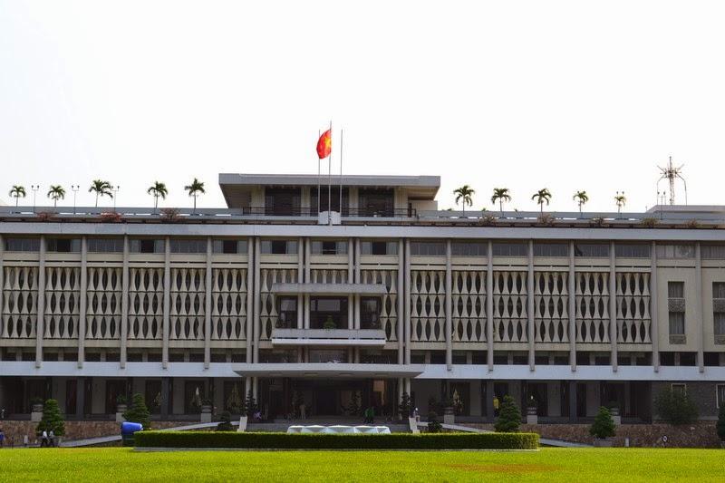 Palais de la Réunification, Ho CHi Minh