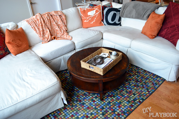 Stained Coffee Table with distressed edges: How to Stain a Coffee Table | DIY Playbook