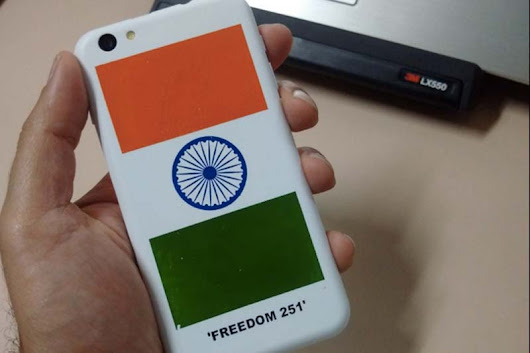 FREEDOM 251 3RD ROUND STARTED TODAY...HURRY UP @ 8PM
