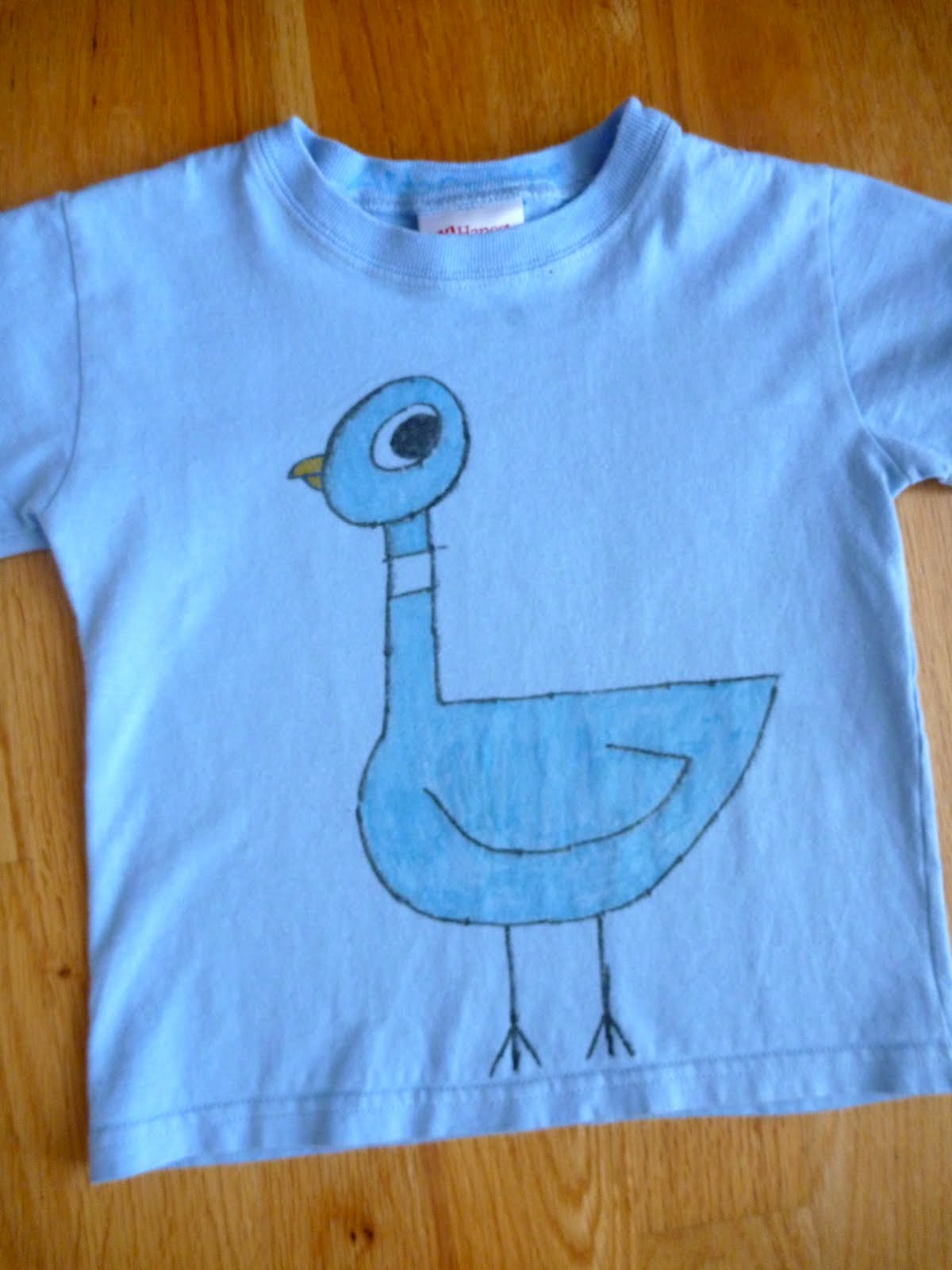 All This For Them Pigeon T Shirt Inspired By Mo Willems