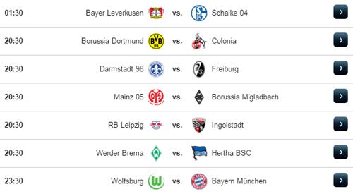 Jadwal Liga Jerman Sabtu 29 April 2017
