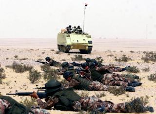 مقتل 10 أرهابيين آخرين في عمليات الجيش المصري في العريش