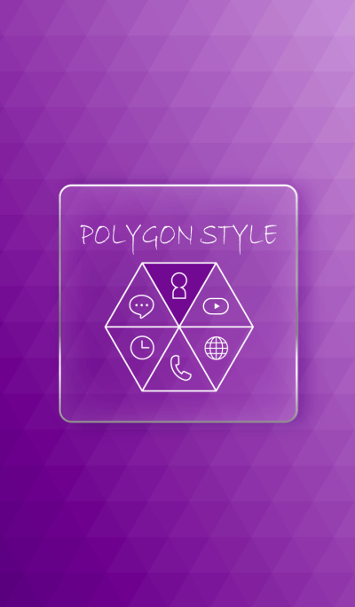 POLYGON STYLE - PURPLE -