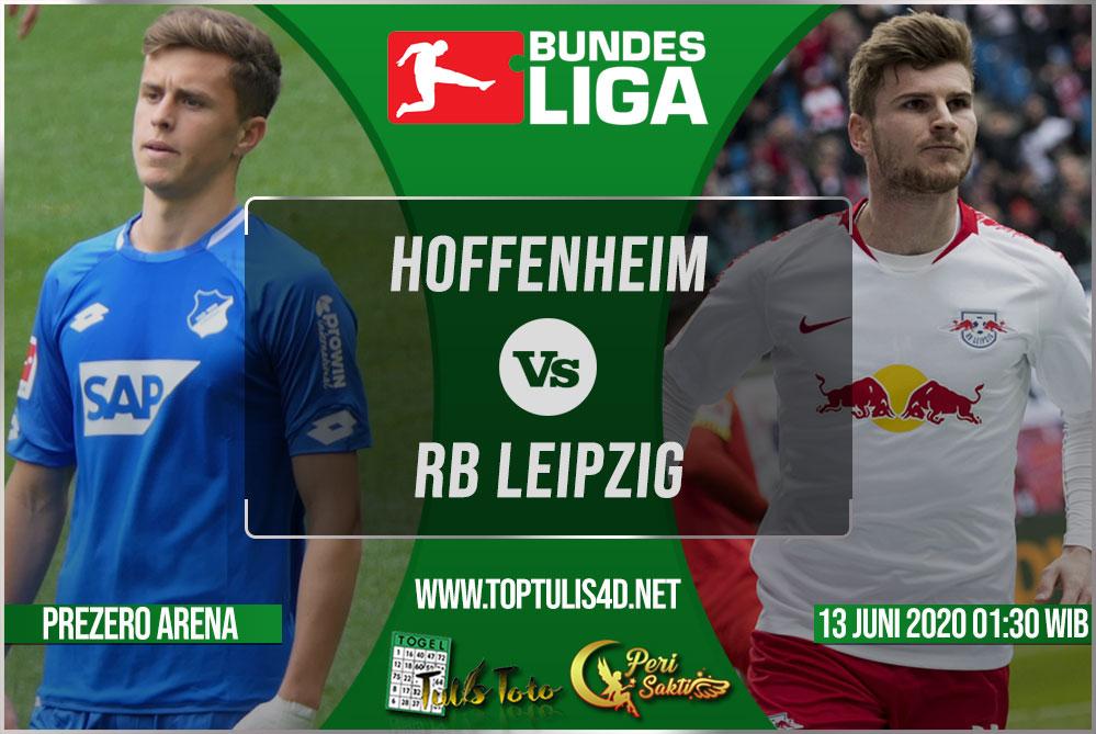 Prediksi Hoffenheim vs RB Leipzig 13 Juni 2020