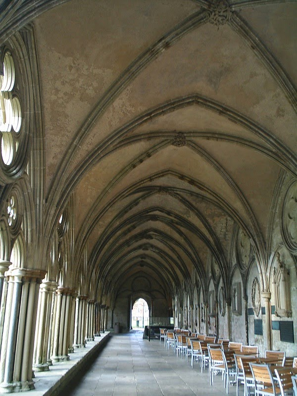 Salisbury Cathedral geometry roof gothic vault