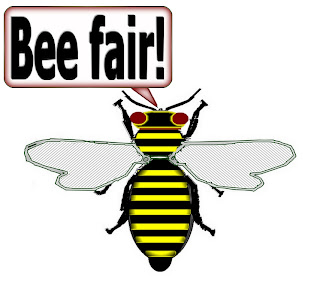 "Click image for ""Bee"" items imprinted on T-shirts, mugs, and more!"