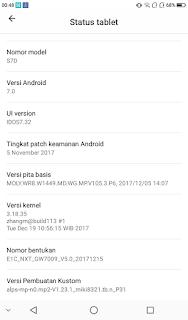 ADVAN E1C_NXT_7.0_MT6580_GW7009_V5.0_20171215