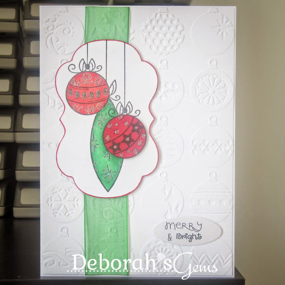 Merry & Bright sq - photo by Deborah Frings - Deborah's Gems