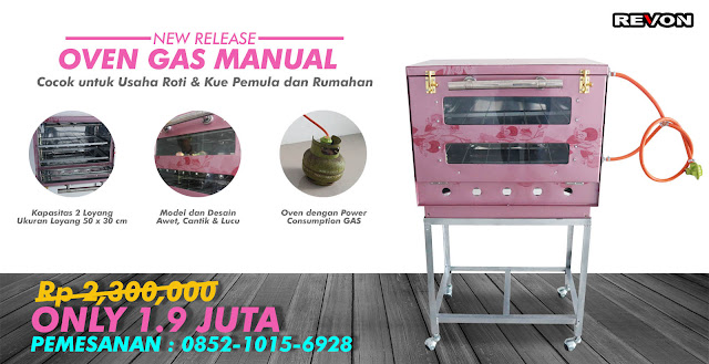 Oven Gas Manual Harga 1.9 Jutaan