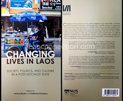 Book:  Changing lives in Laos