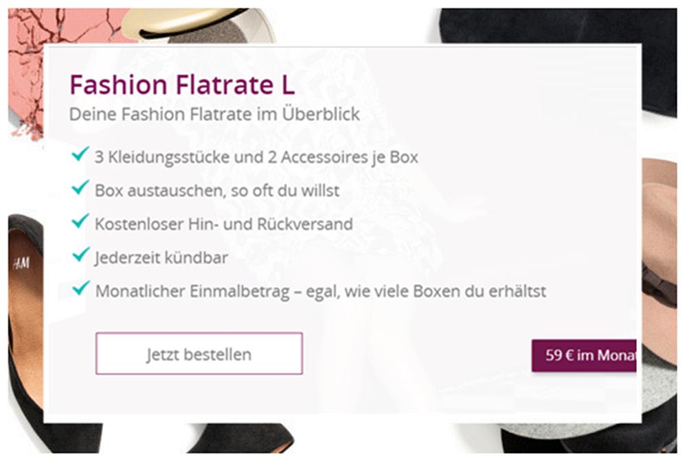 Fashion Flatrate L