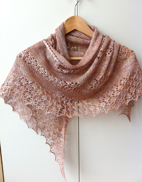 June Bunnies Shawl - Free Pattern