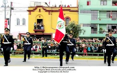 Foto de la Escolta del Colegio Leoncio Prado (Promoción XLI) tomada por Jesus Gómez