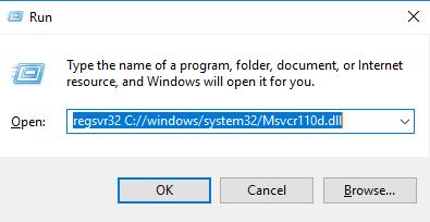 Télécharger Msvcr110d.dll Fichier Gratuit Installer