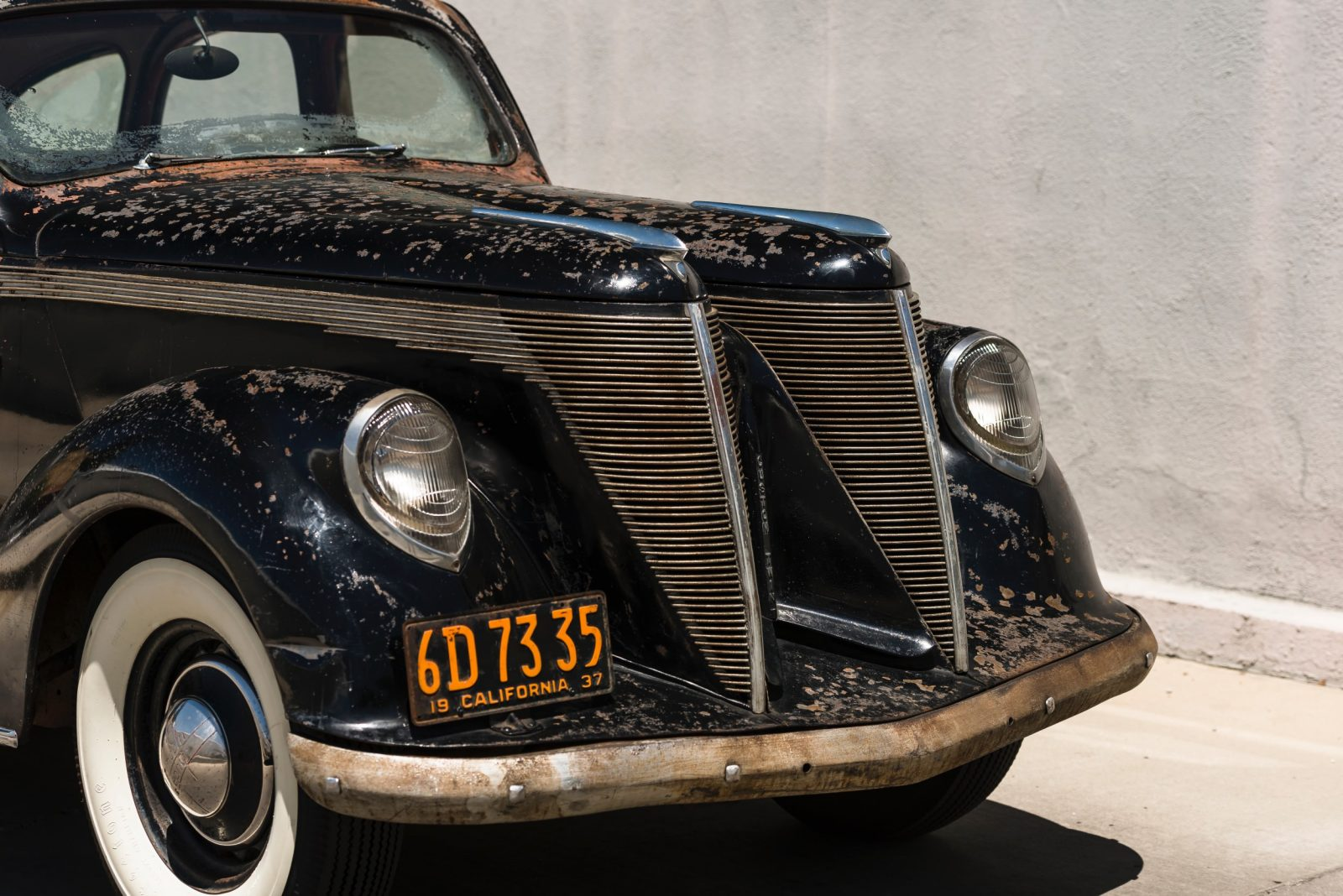 Land Rover Santa Monica >> MUSCLE CAR COLLECTION : Lincoln Zephyr V12 Twin-Grille The ...