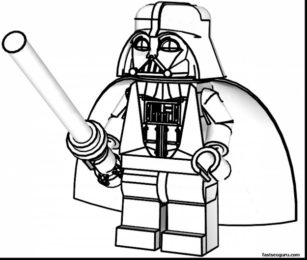 Awesome Lego Star Wars Coloring Pages With Lego Coloring Pages To Print And Lego  City Coloring