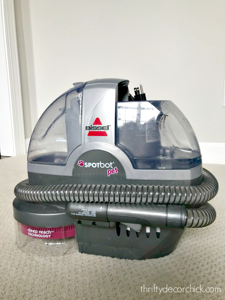 Spot bot pet carpet cleaner machine