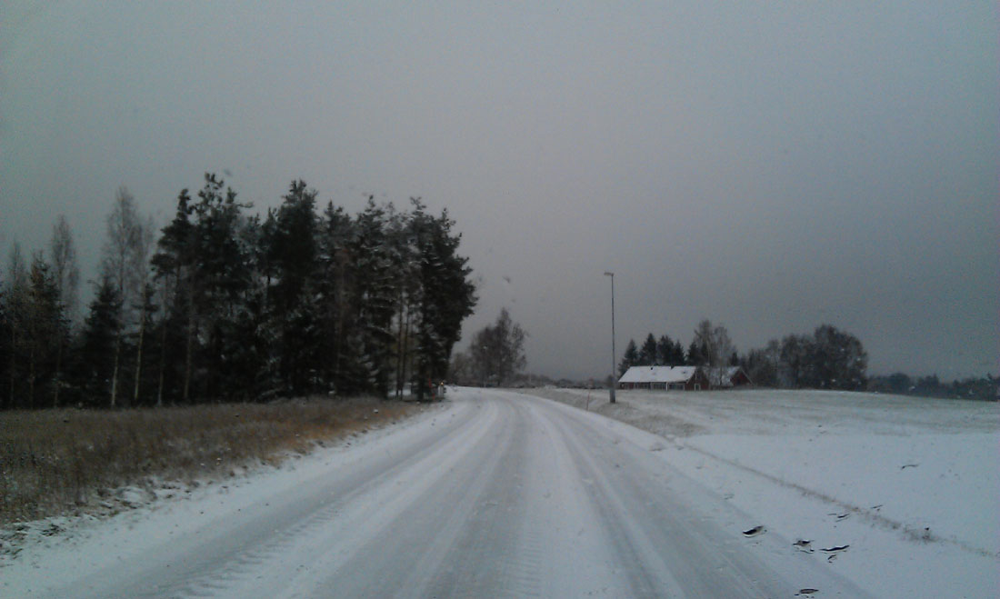 Nevicata 9 novembre 2016