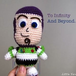 free Buzz Light Year crochet patterns