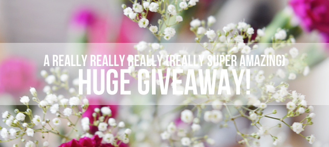 A Super Exciting Giveaway!