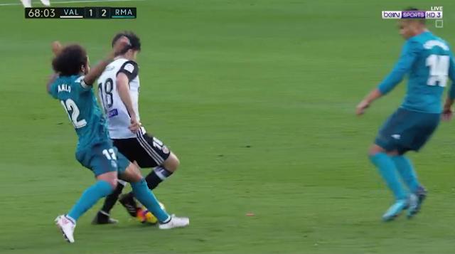 تقييم اداء لاعبي ريال مدريد بعد فوزهم علي فالنسيا