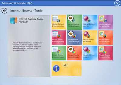تحميل برنامج ازالة البرامج للكمبيوتر Advanced Uninstaller 2017