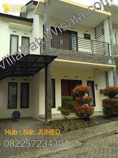 Villa 4 Kamar Tidur Dekat BNS | Villa Mutiara Indah | Villa Batu Wisata