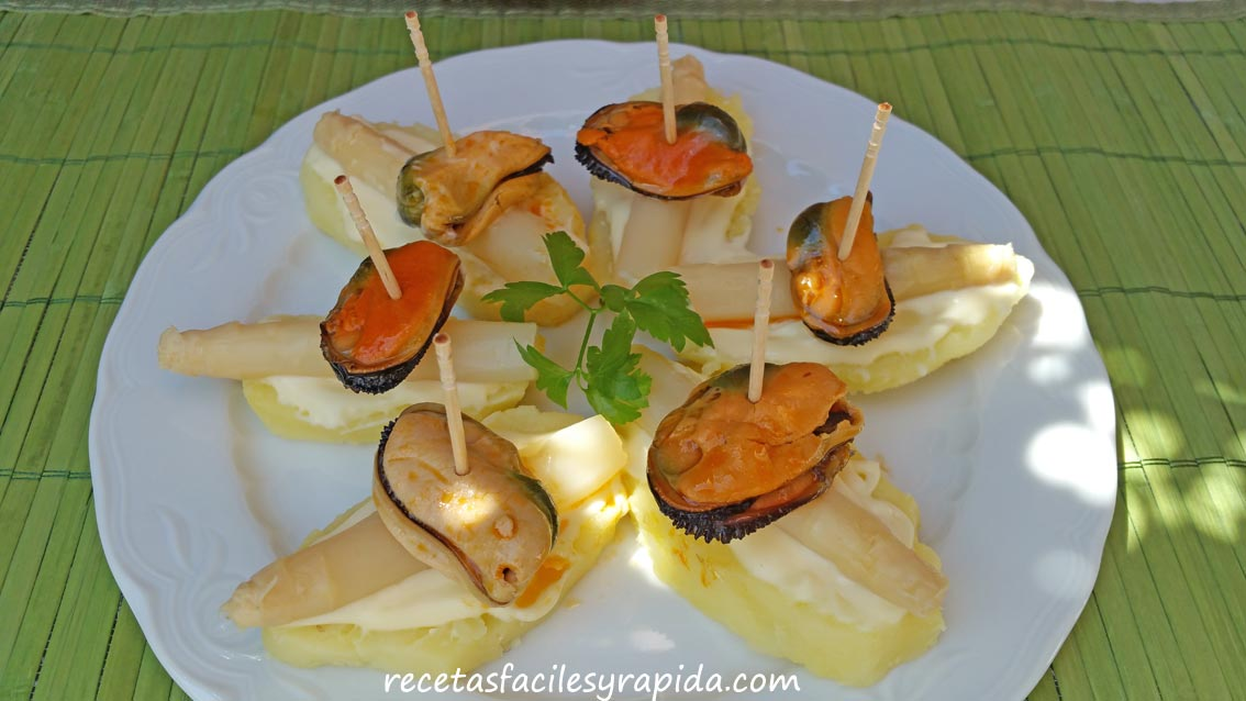 Recetas f ciles y r pidas aperitivos tapas tostas for Tapas sencillas y rapidas