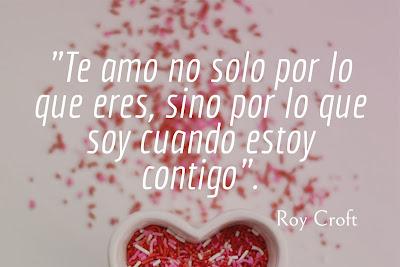 Frase sobre el amor de Roy Croft