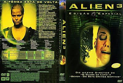 Filme Alien 3 DVD Capa