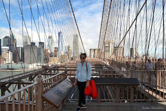 Katie Wanders Girls Trip To Nyc Day 2 Brooklyn Bridge 911