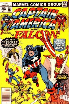 Captain America and the Falcon #218