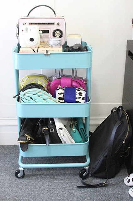 Will Bake for Shoes | Studio Apartment Raskog Cart Purse Storage