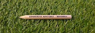 Pencil from Lumberjax Mini Golf