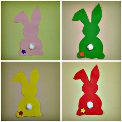 Easter Bunnies on the wall