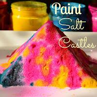 The Practical Mom: Paint Salt Castle