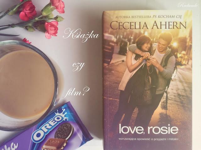 """Piątkowy seans z książką czy filmem? #3: Cecelia Ahern """"Love, Rosie"""""""
