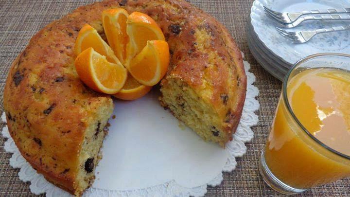 Recette du gâteau à l'orange