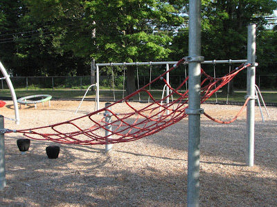 Climbing Net Morse Pond Community Play Area