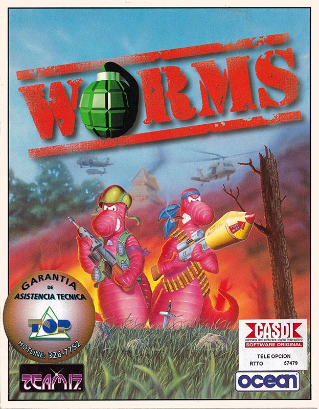 Worms IBM PC Caja 1