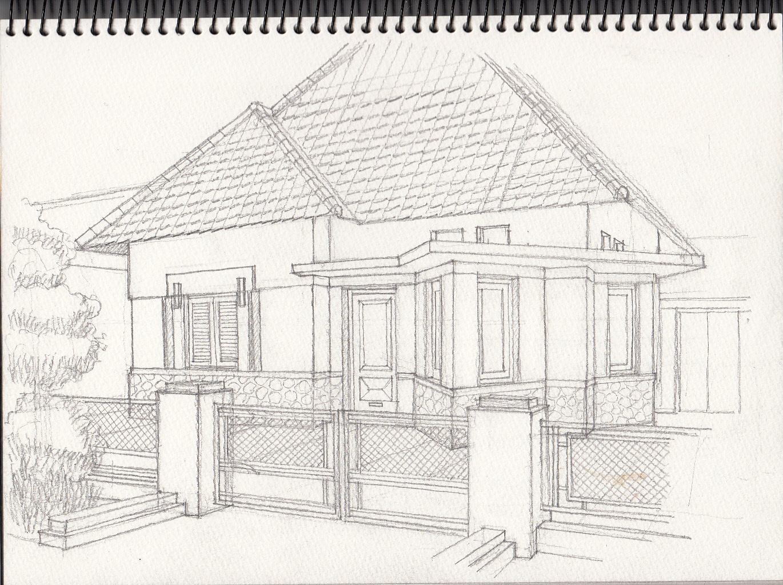 Yandi Prayudhi Sketsa Tua Di Bandung