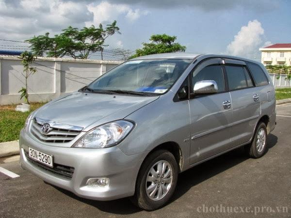 Cho thuê xe Innova dài hạn theo tháng tại Hà Nội