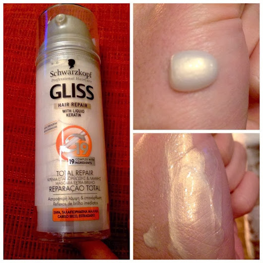 Gliss hair repair with liquid Keratin