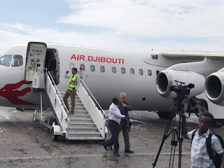 Air Djabouti oo bilowday inay Muqdisho u duusho