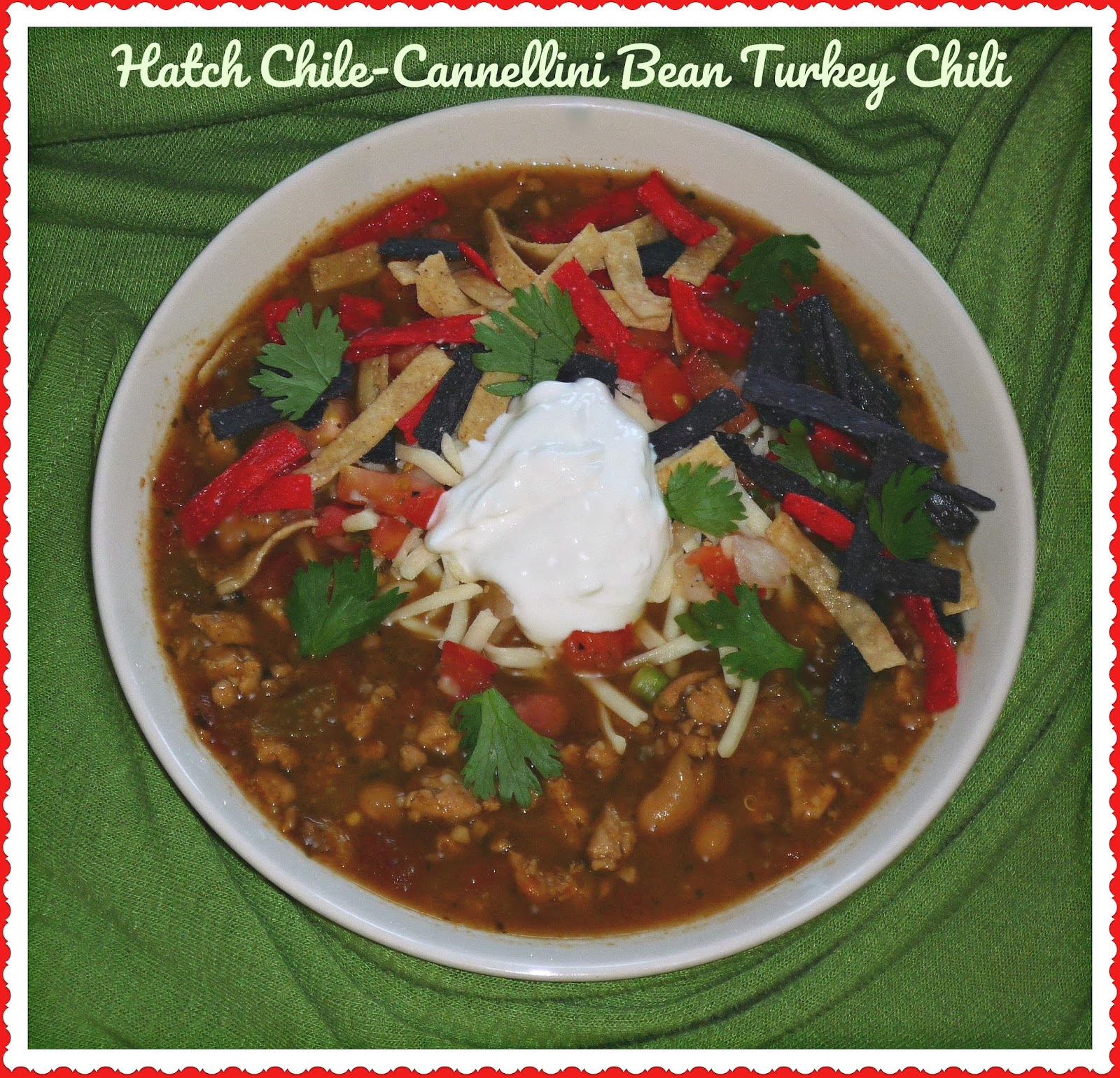 Hatch Chile Cannellini Bean Turkey Chili Featuring Bob S Red Mill Cannellini Beans Cafe Delites