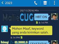 HBT ON Keyword Salah