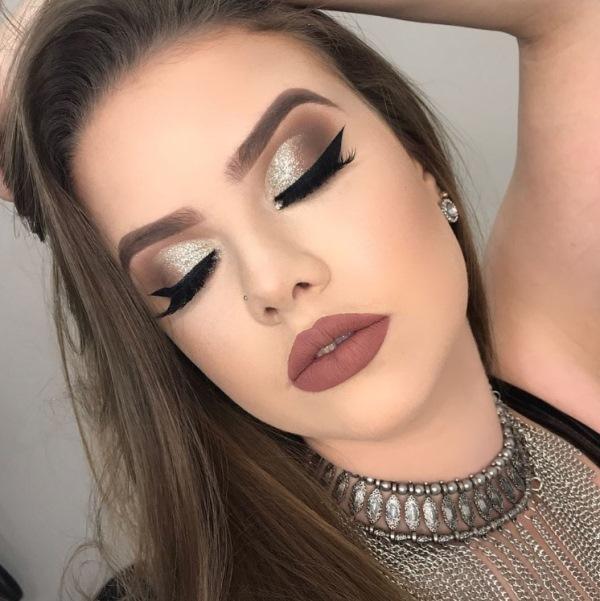 maquiagem de festa makeup