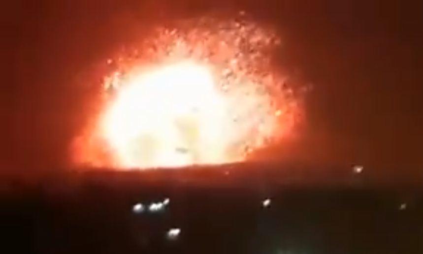 Израиль нанес ракетный удар по иранских войсках в Сирии
