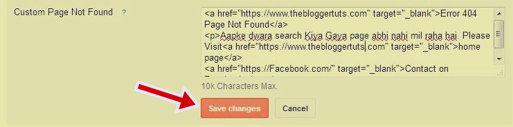 Custom Page Not Found  search engine optimization