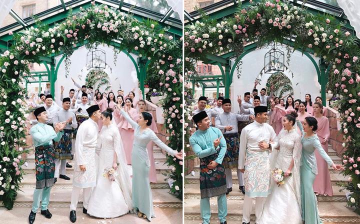 11 Foto Perkahwinan SM Faliq Nasimuddin Bersama Chryseis Tan - Anak Jutawan Malaysia